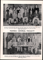 Page 12, 1958 Edition, Nunda High School - O Nonda O Yearbook (Nunda, NY) online yearbook collection
