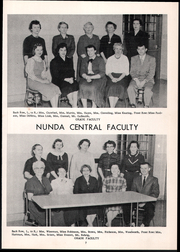 Page 13, 1958 Edition, Nunda High School - O Nonda O Yearbook (Nunda, NY) online yearbook collection