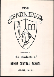 Page 5, 1958 Edition, Nunda High School - O Nonda O Yearbook (Nunda, NY) online yearbook collection