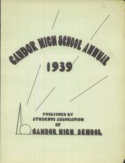 Page 3, 1939 Edition, Candor Central High School - Candorama Yearbook (Candor, NY) online yearbook collection