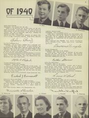 Page 11, 1940 Edition, Candor Central High School - Candorama Yearbook (Candor, NY) online yearbook collection