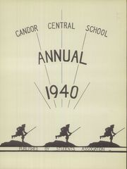 Page 3, 1940 Edition, Candor Central High School - Candorama Yearbook (Candor, NY) online yearbook collection