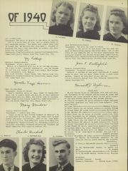 Page 9, 1940 Edition, Candor Central High School - Candorama Yearbook (Candor, NY) online yearbook collection