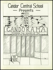 Page 9, 1954 Edition, Candor Central High School - Candorama Yearbook (Candor, NY) online yearbook collection