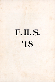 Page 2, 1918 Edition, Fulton High School - Fultonian Yearbook (Fulton, NY) online yearbook collection