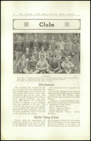 Page 16, 1926 Edition, Fulton High School - Fultonian Yearbook (Fulton, NY) online yearbook collection