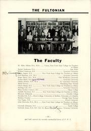 Page 14, 1941 Edition, Fulton High School - Fultonian Yearbook (Fulton, NY) online yearbook collection