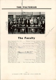 Page 15, 1941 Edition, Fulton High School - Fultonian Yearbook (Fulton, NY) online yearbook collection