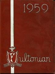 1959 Edition, Fulton High School - Fultonian Yearbook (Fulton, NY)