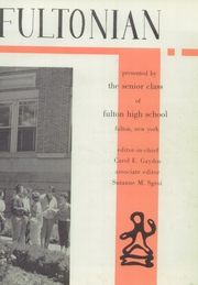 Page 7, 1960 Edition, Fulton High School - Fultonian Yearbook (Fulton, NY) online yearbook collection