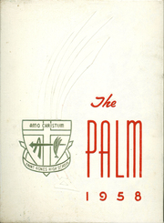 Page 1, 1958 Edition, St Agnes High School - Palm Yearbook (Rochester, NY) online yearbook collection