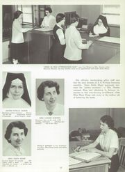 Page 17, 1958 Edition, St Agnes High School - Palm Yearbook (Rochester, NY) online yearbook collection