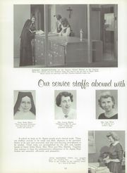 Page 16, 1959 Edition, St Agnes High School - Palm Yearbook (Rochester, NY) online yearbook collection