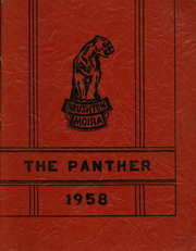 1958 Edition, Brushton Moira Central High School - Panther Yearbook (Brushton, NY)
