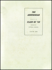 Page 5, 1949 Edition, Romulus Central High School - Arrowhead Yearbook (Romulus, NY) online yearbook collection