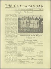 Page 3, 1929 Edition, Cattaraugus High School - Caravan Yearbook (Cattaraugus, NY) online yearbook collection