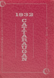 Page 1, 1932 Edition, Cattaraugus High School - Caravan Yearbook (Cattaraugus, NY) online yearbook collection