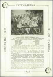 Page 12, 1932 Edition, Cattaraugus High School - Caravan Yearbook (Cattaraugus, NY) online yearbook collection