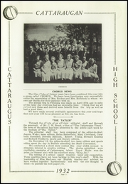 Page 13, 1932 Edition, Cattaraugus High School - Caravan Yearbook (Cattaraugus, NY) online yearbook collection