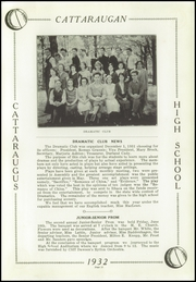Page 15, 1932 Edition, Cattaraugus High School - Caravan Yearbook (Cattaraugus, NY) online yearbook collection