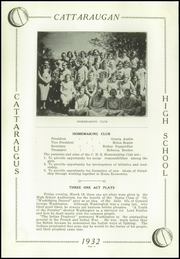 Page 16, 1932 Edition, Cattaraugus High School - Caravan Yearbook (Cattaraugus, NY) online yearbook collection