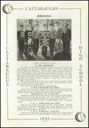 Page 17, 1932 Edition, Cattaraugus High School - Caravan Yearbook (Cattaraugus, NY) online yearbook collection