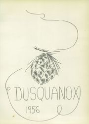 Page 5, 1956 Edition, Duanesburg High School - Dusquanox Yearbook (Delanson, NY) online yearbook collection