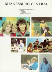 Page 6, 1986 Edition, Duanesburg High School - Dusquanox Yearbook (Delanson, NY) online yearbook collection