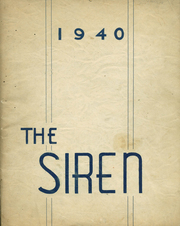 Fort Edward High School - Siren Yearbook (Fort Edward, NY) online yearbook collection, 1940 Edition, Page 1