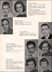 Page 16, 1958 Edition, Clifton Fine Central High School - Mountain Echo Yearbook (Star Lake, NY) online yearbook collection