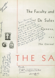 Page 6, 1949 Edition, DeSales High School - Salesian Yearbook (Geneva, NY) online yearbook collection