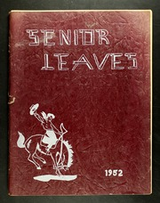 Frewsburg Central School - Senior Leaves Yearbook (Frewsburg, NY) online yearbook collection, 1952 Edition, Page 1