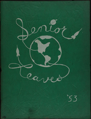 Frewsburg Central School - Senior Leaves Yearbook (Frewsburg, NY) online yearbook collection, 1953 Edition, Page 1