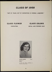 Page 14, 1958 Edition, Frewsburg Central School - Senior Leaves Yearbook (Frewsburg, NY) online yearbook collection
