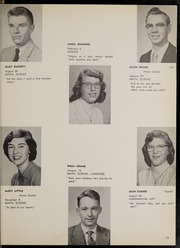 Page 15, 1958 Edition, Frewsburg Central School - Senior Leaves Yearbook (Frewsburg, NY) online yearbook collection