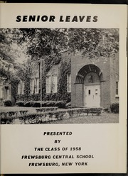 Page 5, 1958 Edition, Frewsburg Central School - Senior Leaves Yearbook (Frewsburg, NY) online yearbook collection