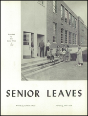 Page 5, 1959 Edition, Frewsburg Central School - Senior Leaves Yearbook (Frewsburg, NY) online yearbook collection