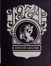 Frewsburg Central School - Senior Leaves Yearbook (Frewsburg, NY) online yearbook collection, 1974 Edition, Page 1