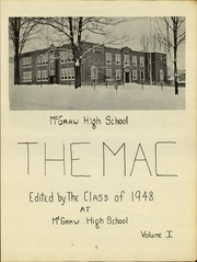 Page 5, 1948 Edition, McGraw High School - Mac Yearbook (Mcgraw, NY) online yearbook collection