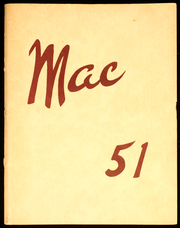 1951 Edition, McGraw High School - Mac Yearbook (Mcgraw, NY)