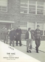 Page 5, 1955 Edition, McGraw High School - Mac Yearbook (Mcgraw, NY) online yearbook collection