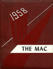 1958 Edition, McGraw High School - Mac Yearbook (Mcgraw, NY)