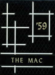 1959 Edition, McGraw High School - Mac Yearbook (Mcgraw, NY)