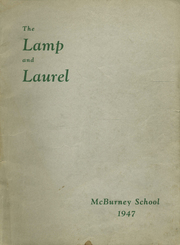 Page 1, 1947 Edition, McBurney School - Lamp and Laurel Yearbook (New York, NY) online yearbook collection