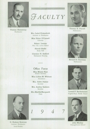 Page 4, 1947 Edition, McBurney School - Lamp and Laurel Yearbook (New York, NY) online yearbook collection
