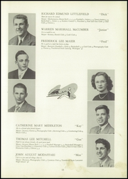 Page 17, 1950 Edition, Williamsville High School - Searchlight Yearbook (Williamsville, NY) online yearbook collection