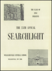 Page 5, 1953 Edition, Williamsville High School - Searchlight Yearbook (Williamsville, NY) online yearbook collection