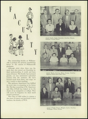 Page 9, 1953 Edition, Williamsville High School - Searchlight Yearbook (Williamsville, NY) online yearbook collection