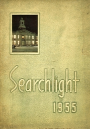 1955 Edition, Williamsville High School - Searchlight Yearbook (Williamsville, NY)