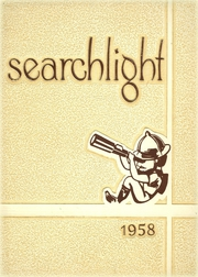 1958 Edition, Williamsville High School - Searchlight Yearbook (Williamsville, NY)